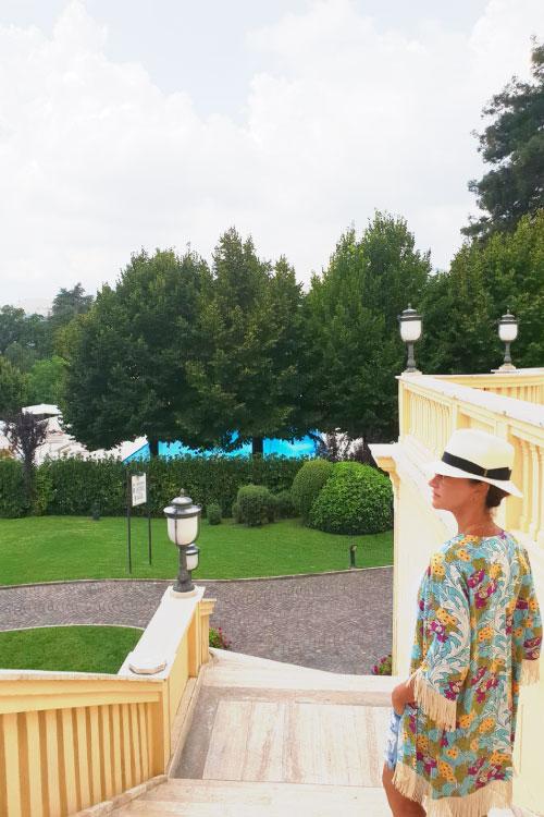 Fiuggi, relax al Grand Hotel Palazzo della Fonte